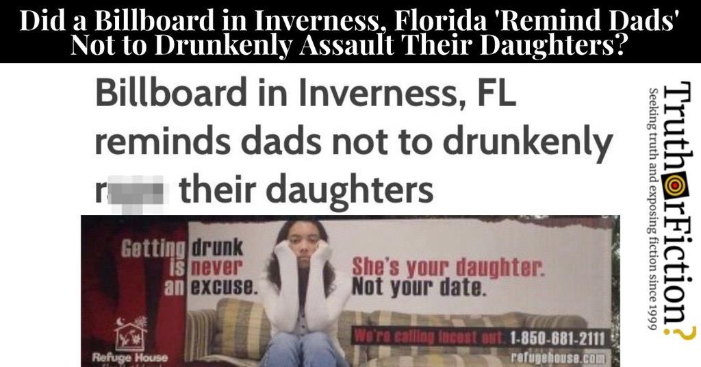 Billboard in Inverness, Florida