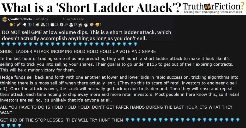 What Is a Short Ladder Attack?