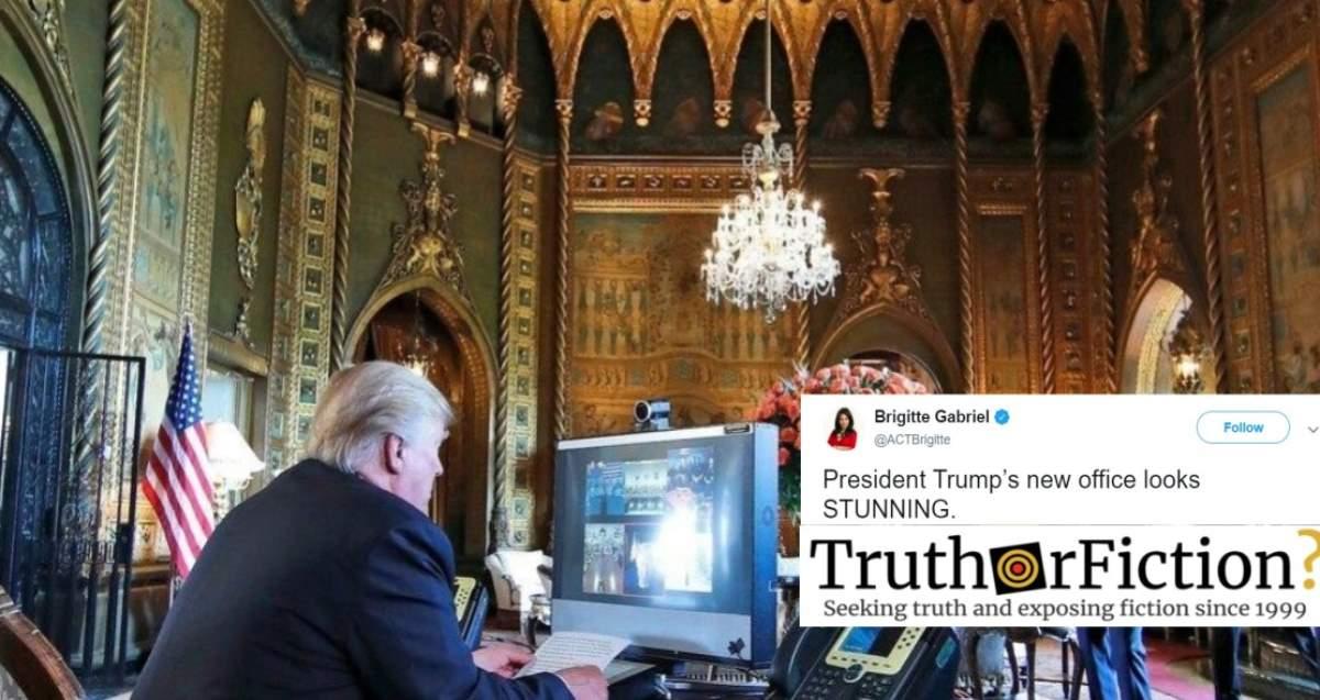 'President Trump's New Office Looks STUNNING'
