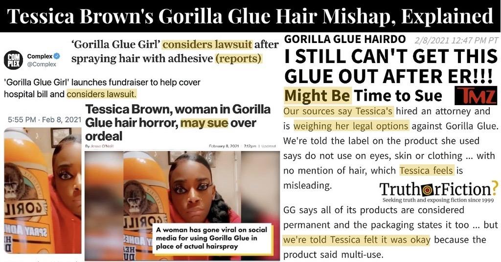 Gorilla Glue Hair Lawsuit, Explained