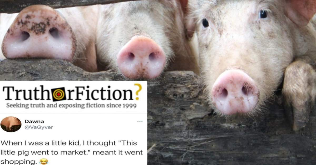 Does 'This Little Piggy' Have a Darker Meaning?