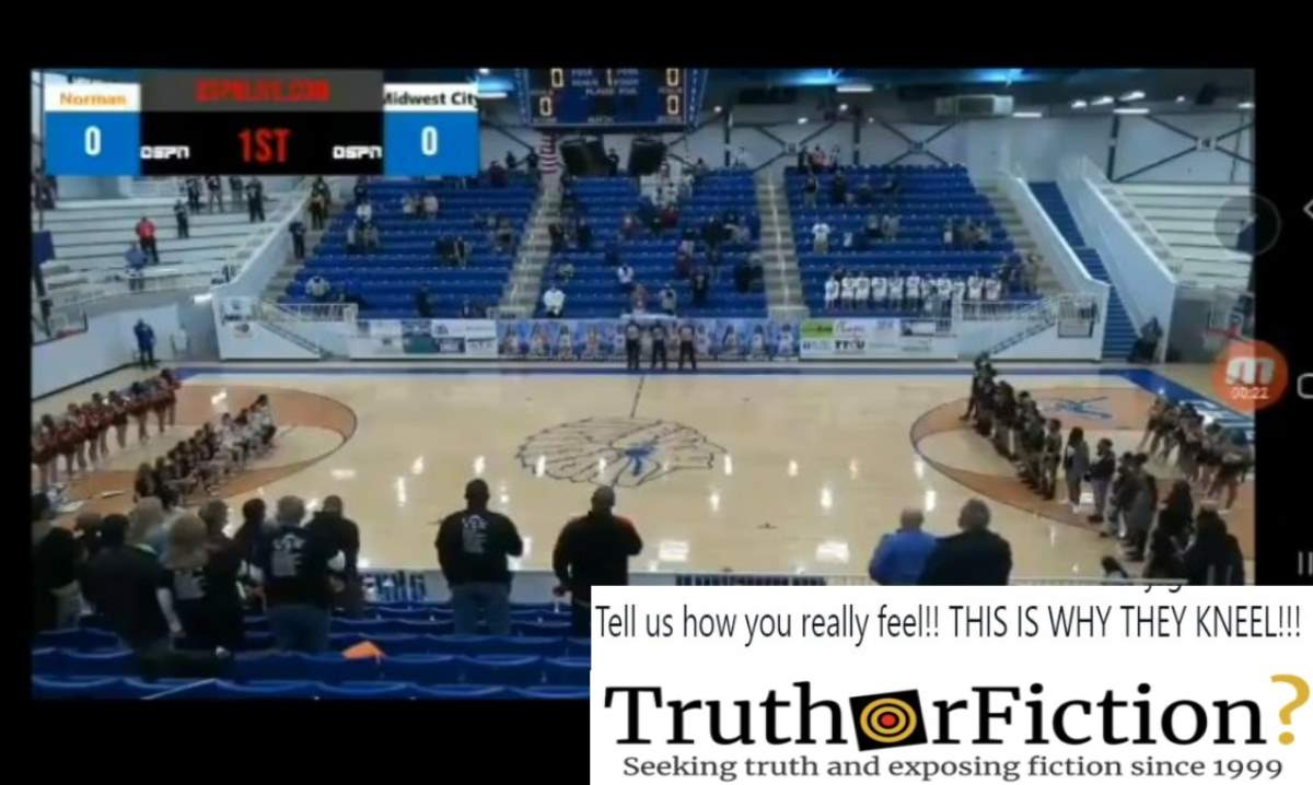 Was a High School Basketball Announcer Caught Using a Racist Slur Against Players?