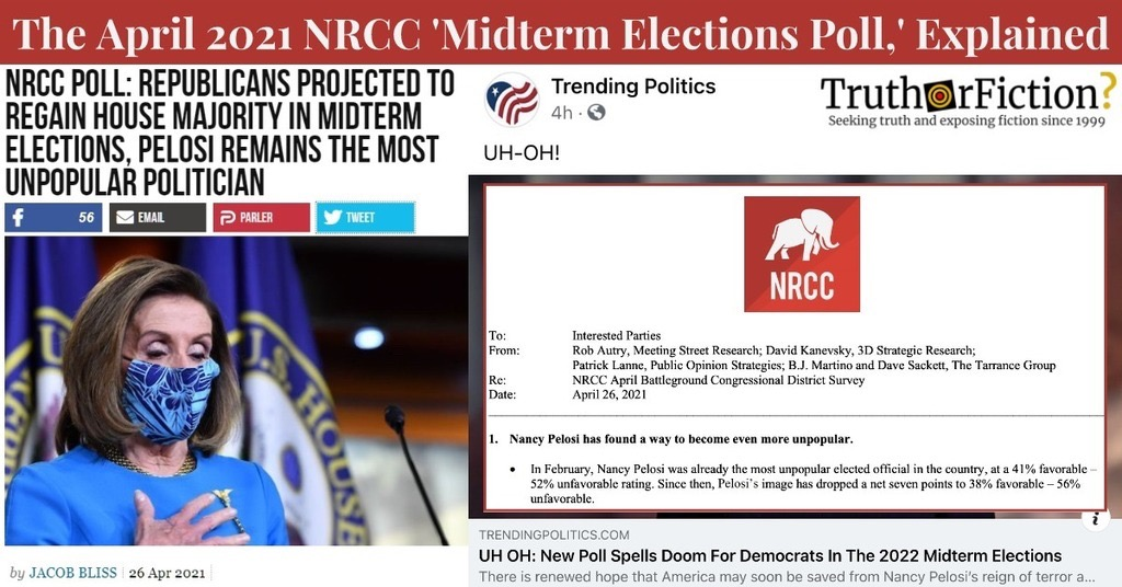 'New Poll Spells Doom For Democrats in the 2022 Midterm Elections'