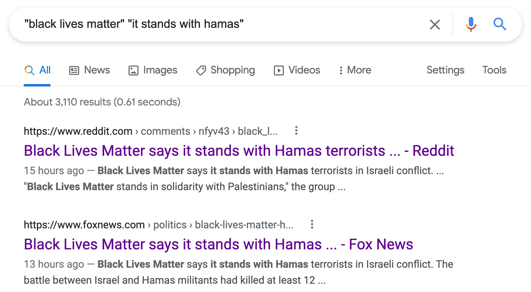 black lives matter stands with hamas