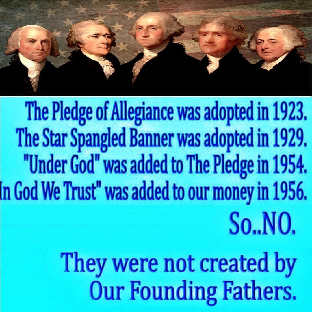 pledge of allegiance 1923 meme