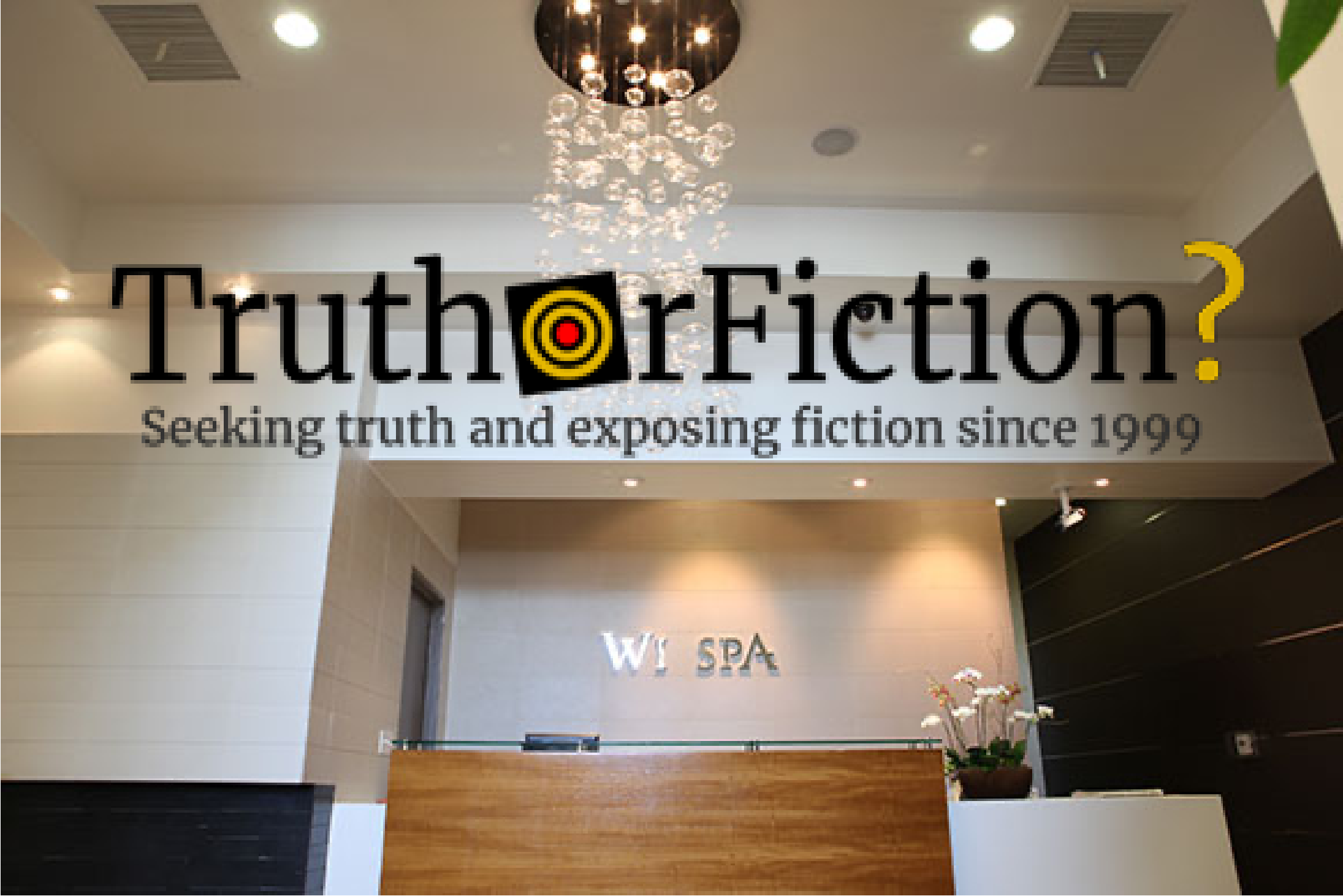Wi Spa Weaponized Disinformation Campaign