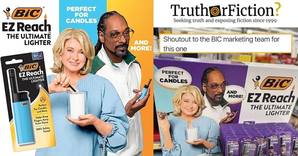 Bic's 'Martha and Snoop' Ad