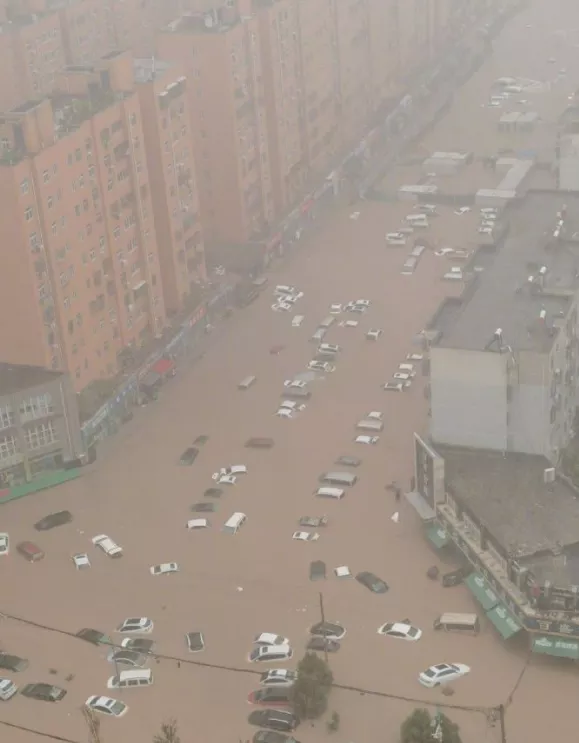 how much rain did china get 2021