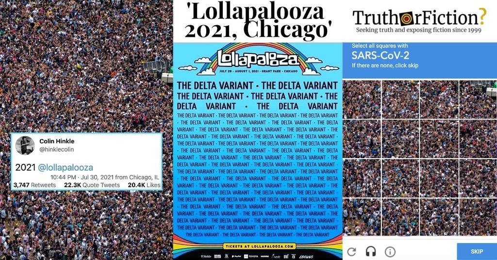 Lollapalooza Crowd 2021 Image