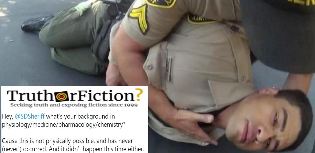 News Organizations Uncritically Spread Sheriff's Fentanyl 'Overdose' Video