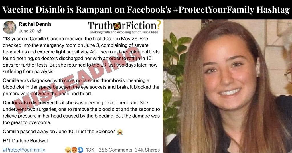 Camilla Canepa and #ProtectYourFamily