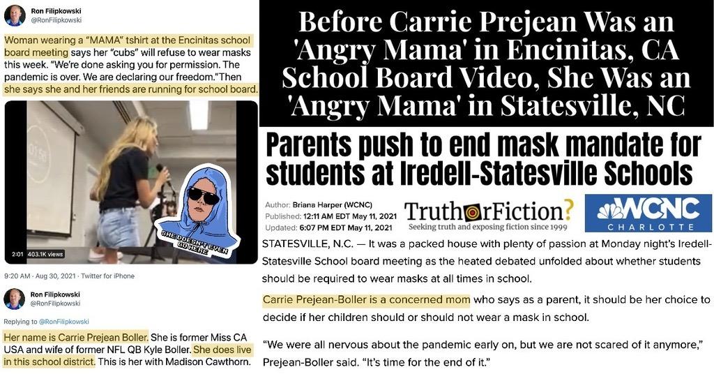 Carrie Prejean Encinitas School Board Video
