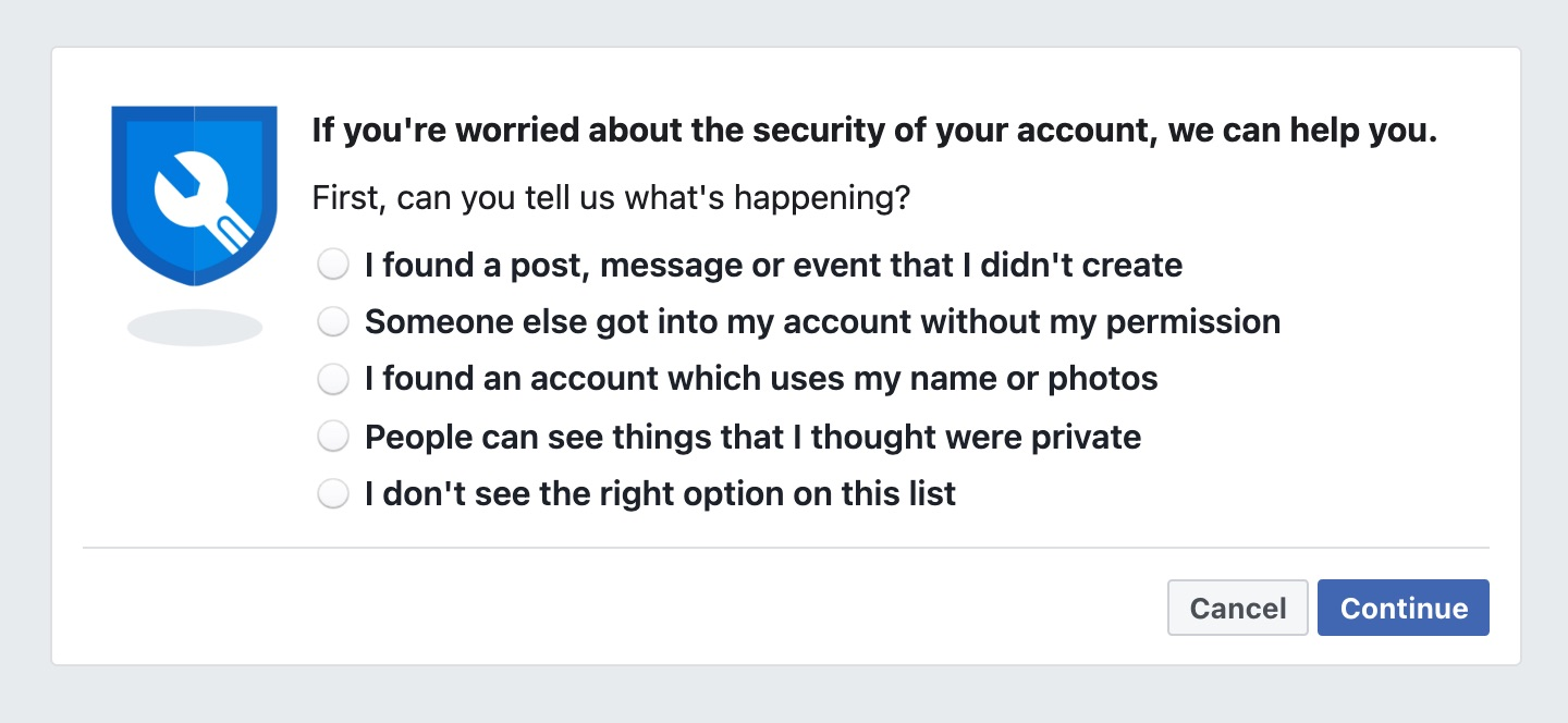 facebook hacked 2021 email changed hotmail