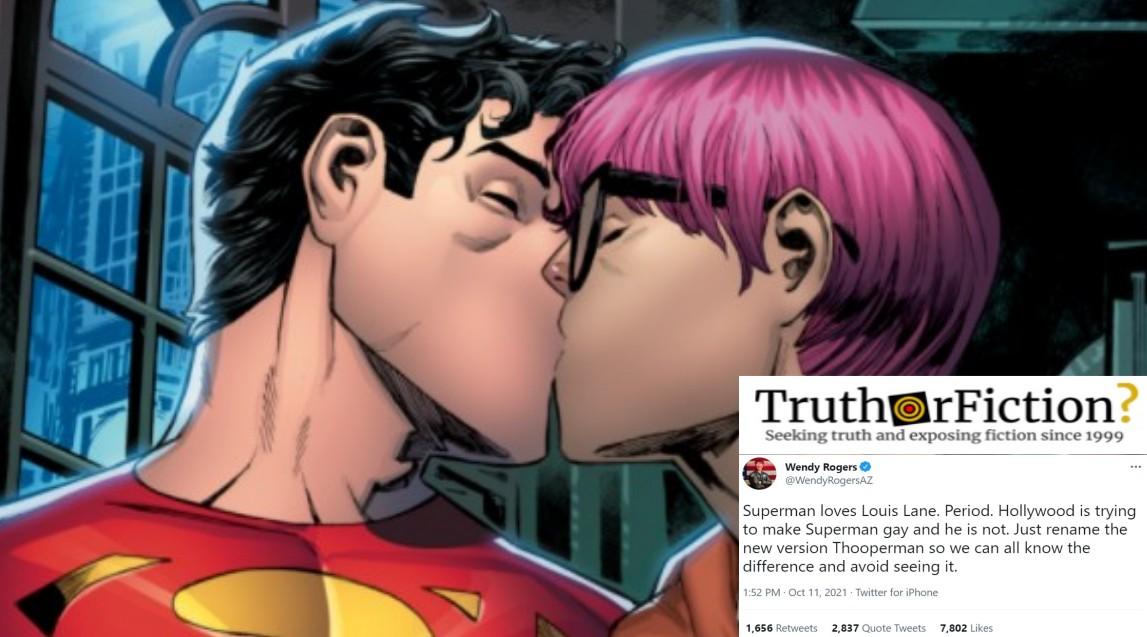Did DC Comics 'Make Superman Gay'?